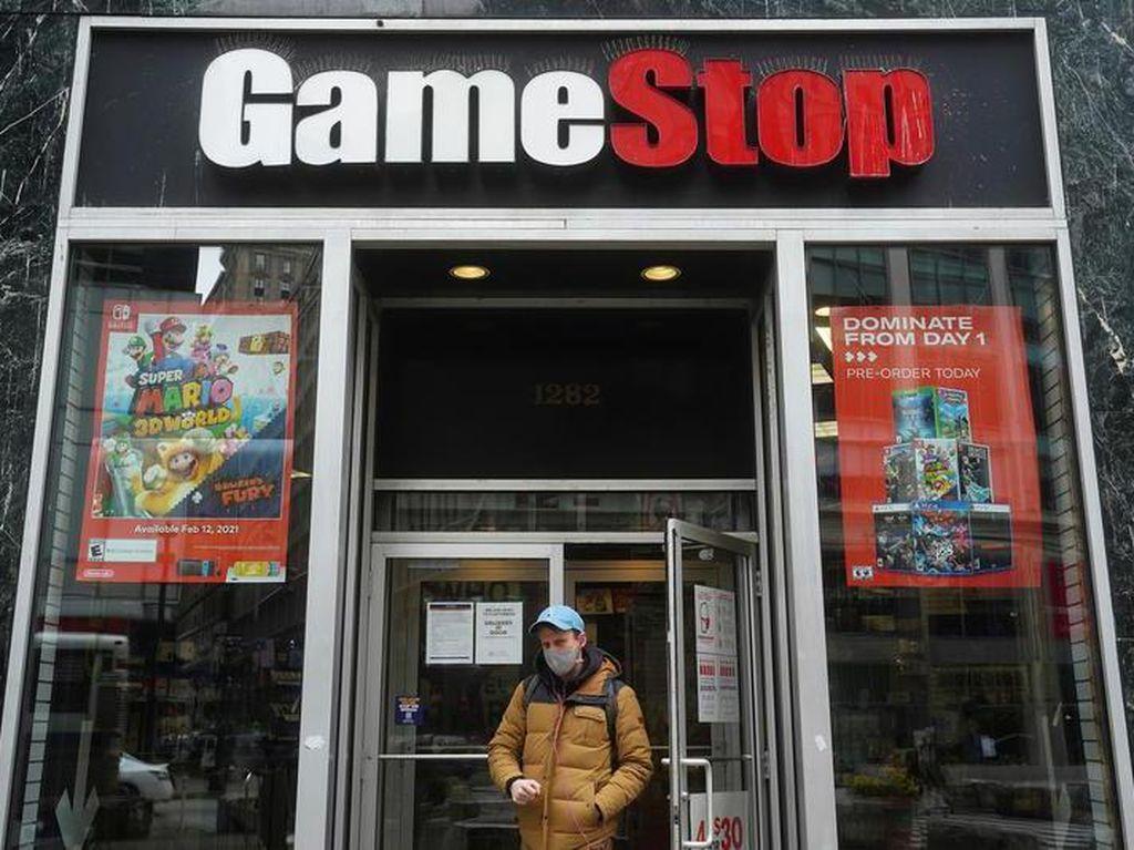 Gokil! Saham GameStop Melesat 104%