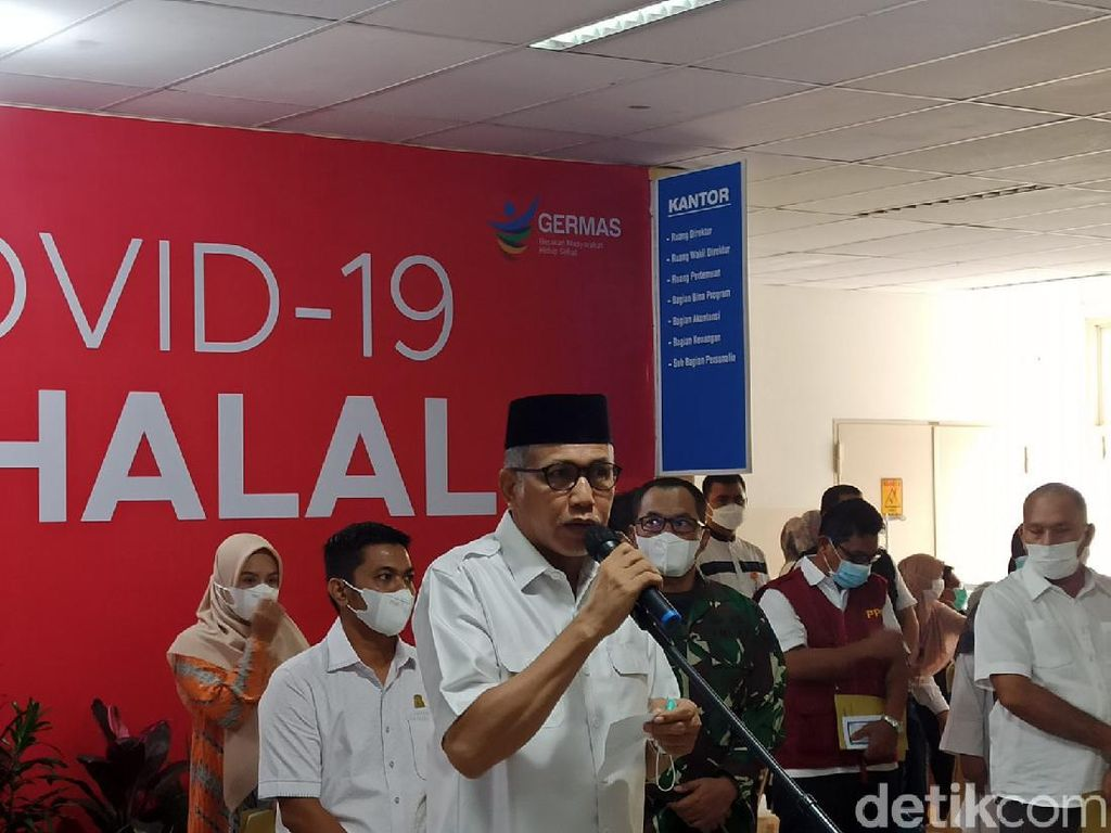 Gubernur Aceh Divaksin COVID Ke-2: Yang Pertama Tak Ada Efek Sama Sekali