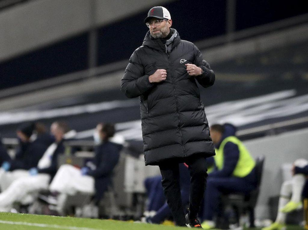 Leganya Klopp Usai Liverpool Bungkam Tottenham
