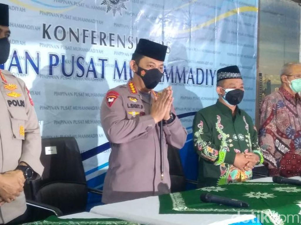 Jenderal Listyo Sigit Prabowo di Depan PP Muhammadiyah: Kami Siap Dikritik