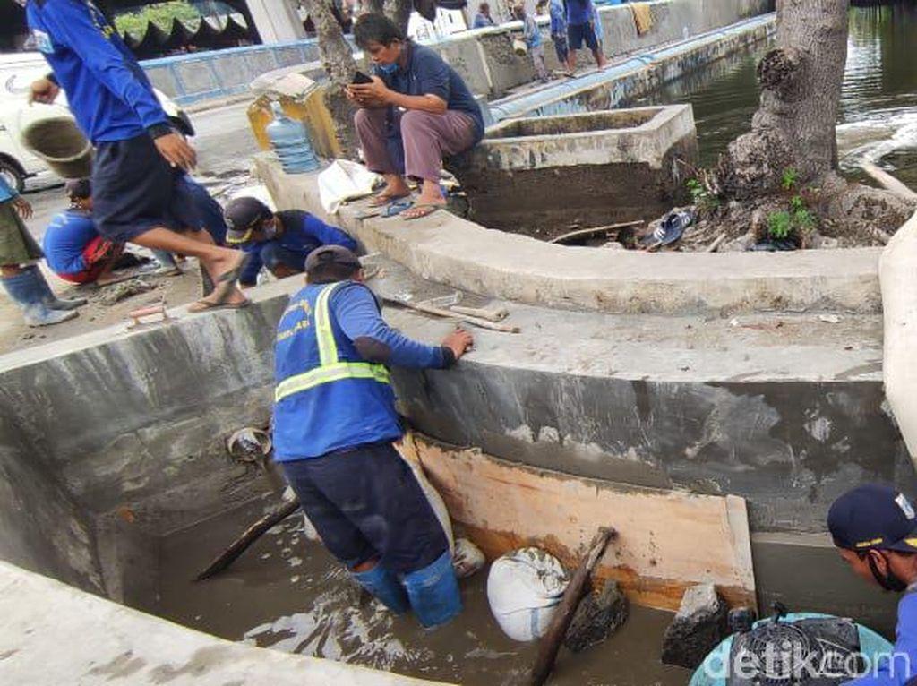 Bangunan Solutif Banjir Rob Jl Martadinata Ancol Segera Selesai