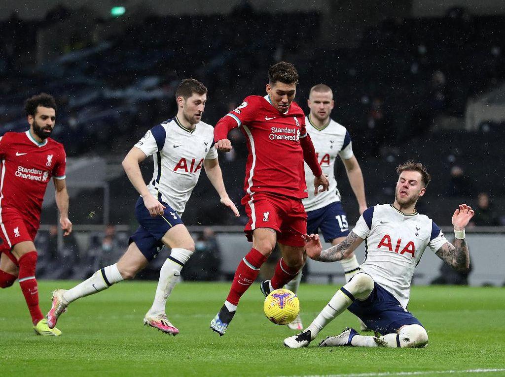 Tottenham Vs Liverpool: Gol Firmino Membuka Celah untuk Si Merah