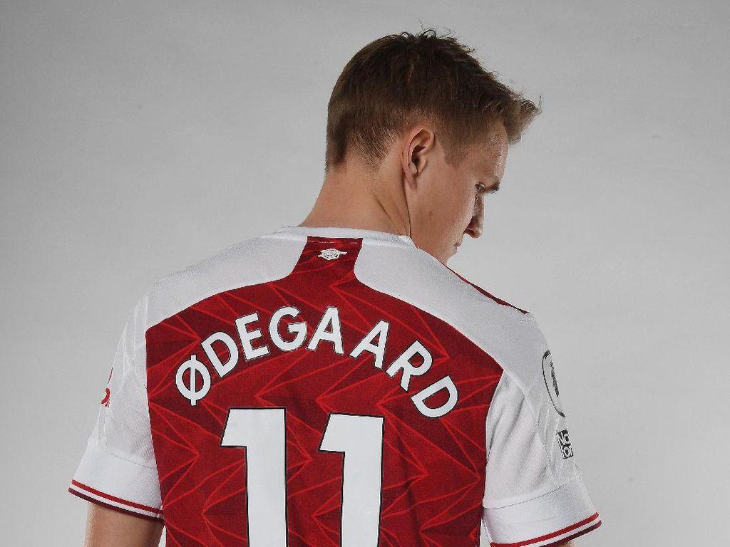 Martin Odegaard Statusnya Pinjaman, tapi Naik Gaji di Arsenal