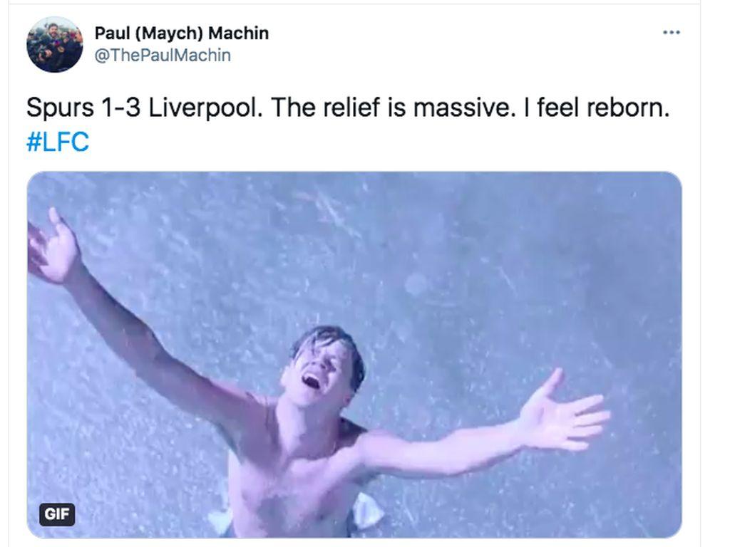 Meme Sukacita Liverpool Akhirnya Menang