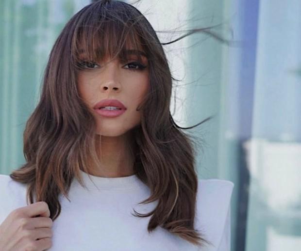 Model rambut wanita di 2021/Instagram @justinemarjan