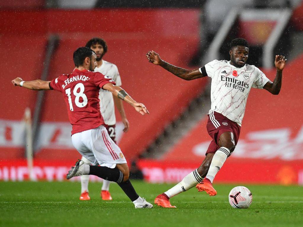 Arsenal Vs MU: Arteta Sebut Fernandes yang Terbaik di Liga Inggris