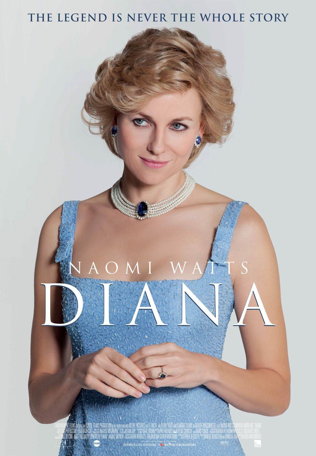 Naomi Watts, pemain Putri Diana