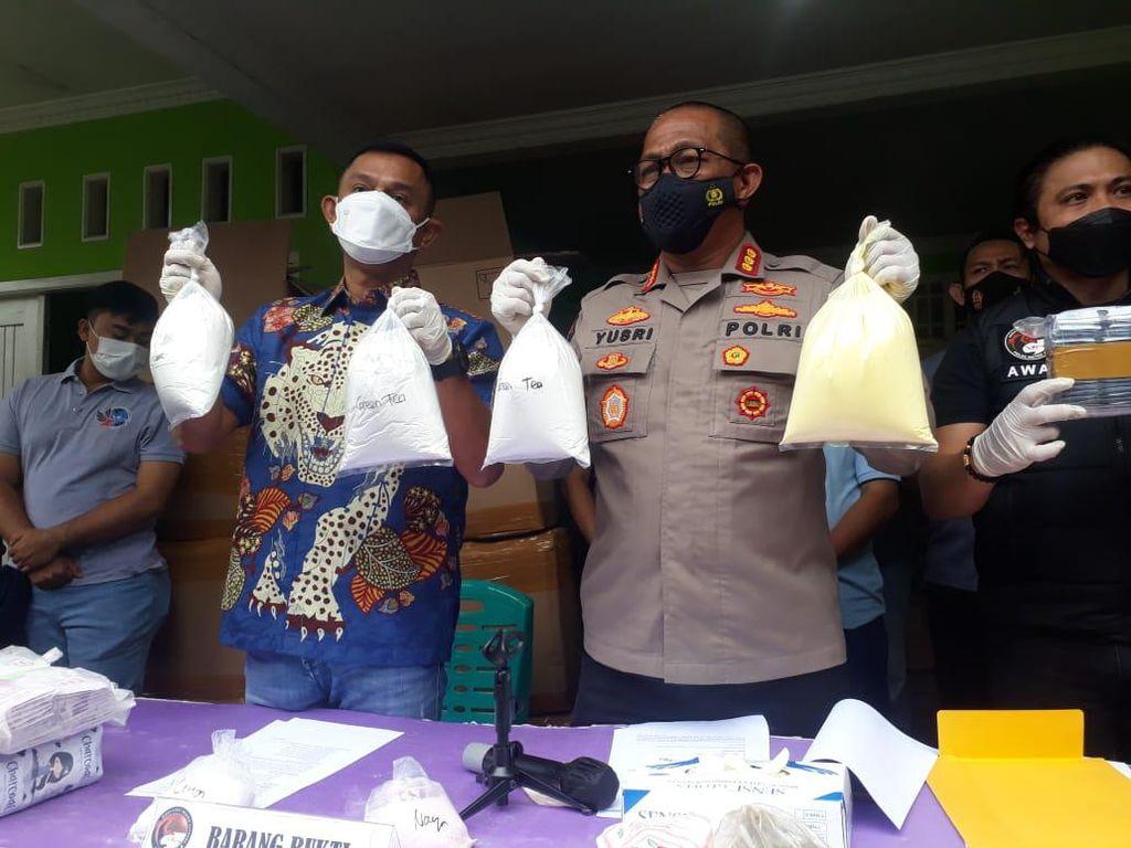 Menengok Pabrik Kosmetik Ilegal, Omzetnya 100 Juta Per Bulan
