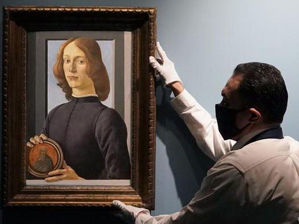 Rekor! Lukisan Botticelli Terjual Rp 1,2 T