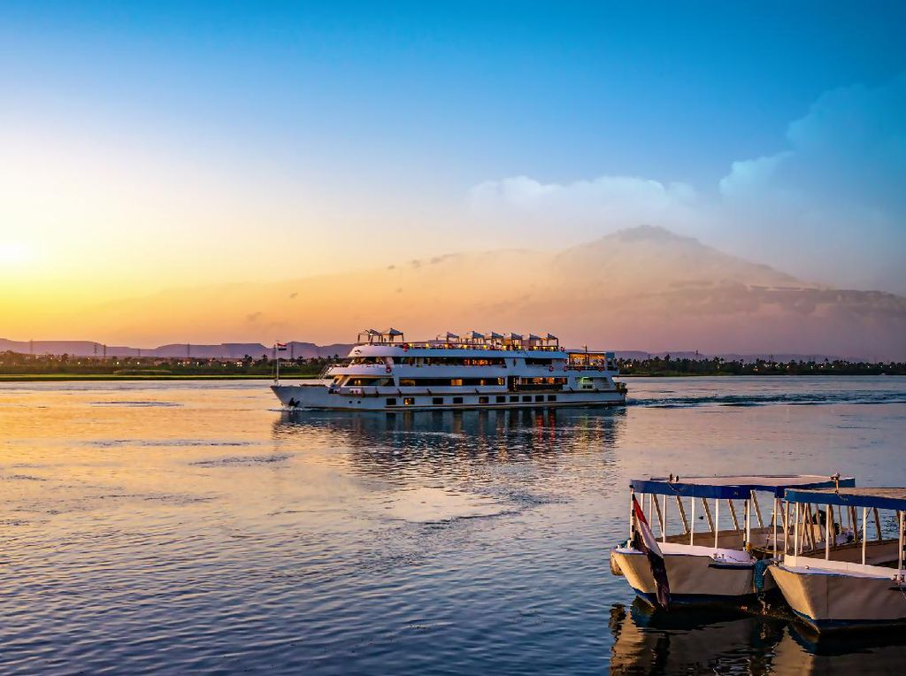 Sensasi Pesiar di Sungai Nil Bersama Ratu Kejahatan Agatha Christie