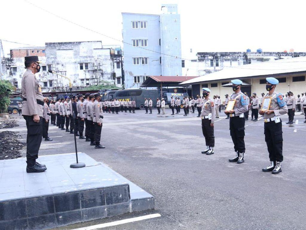 Terlibat Kasus Narkoba-Desersi, 14 Polisi di Sumsel Dipecat