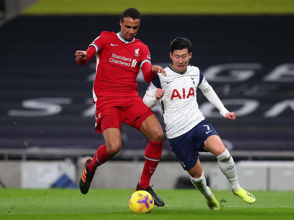 Gol-gol Tottenham Takluk dari Liverpool