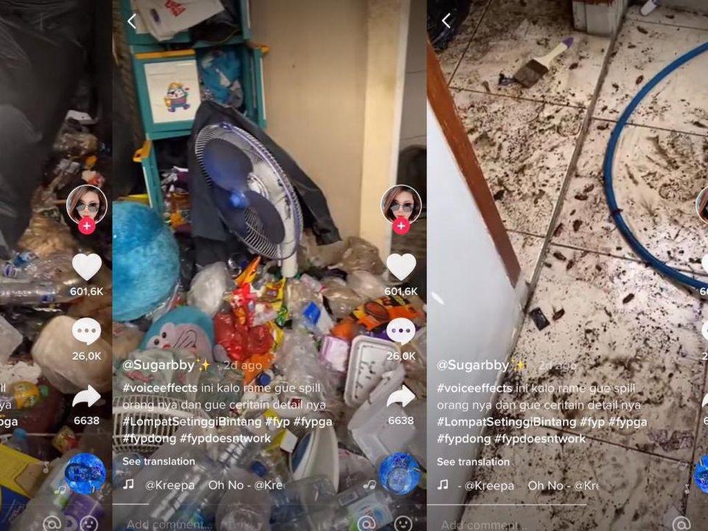 Viral Kamar Kost Penuh Sampah dan Kecoak, Netizen Duga Hoarding Disorder