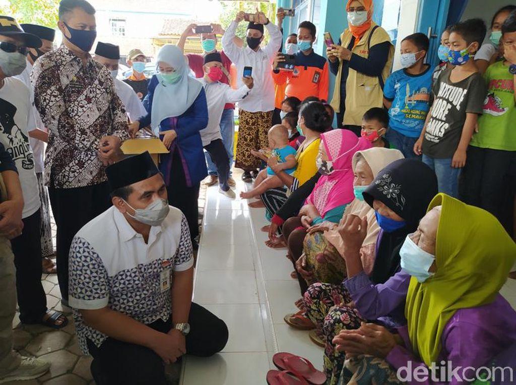 Wagub Jateng Pesan ke Pengungsi Merapi di Magelang: Ikuti Arahan Tim BPBD
