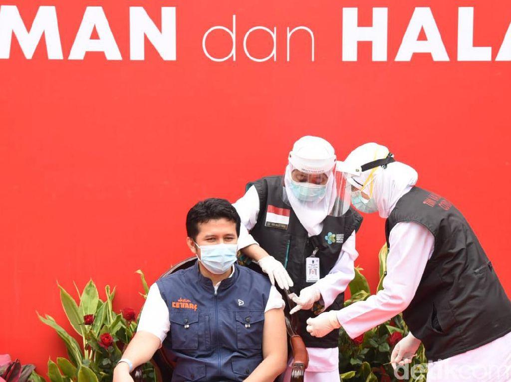 30 Ribu Nakes di Jatim Sudah Vaksinasi, Ini Pesan Wagub Emil