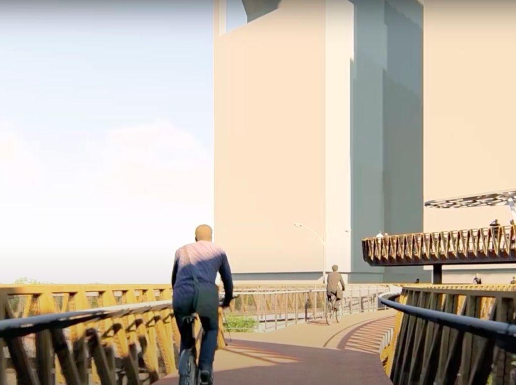 Bakal Ada Lift dan Jalur Sepeda di JPO Sudirman, Para Pegowes Menanggapi