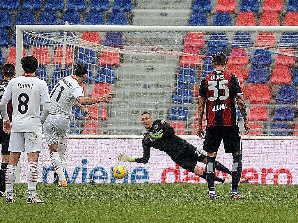 Bologna Vs Milan: Diwarnai Dua Penalti, Rossoneri Menang 2-1