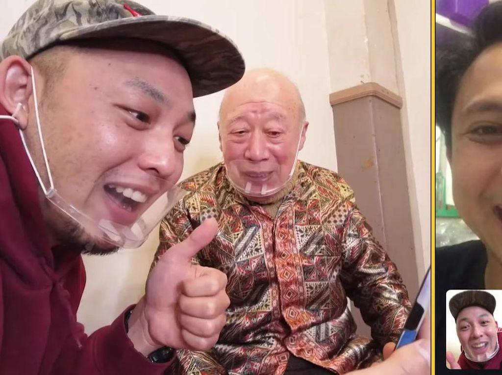 Reaksi Para Komedian Di-video call Kakek Sugiono