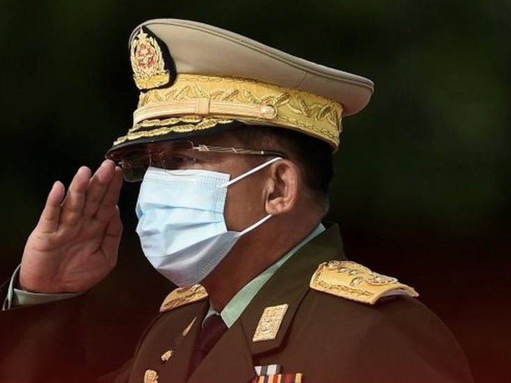 Pemimpin Kudeta Myanmar Janji Atasi Corona dan Selidiki Kecurangan Pemilu