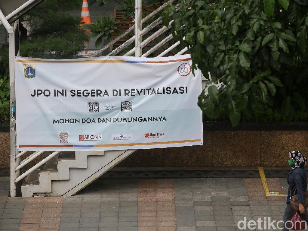Pemprov DKI: Revitalisasi JPO Sudirman Pakai Dana KLB PT PKN