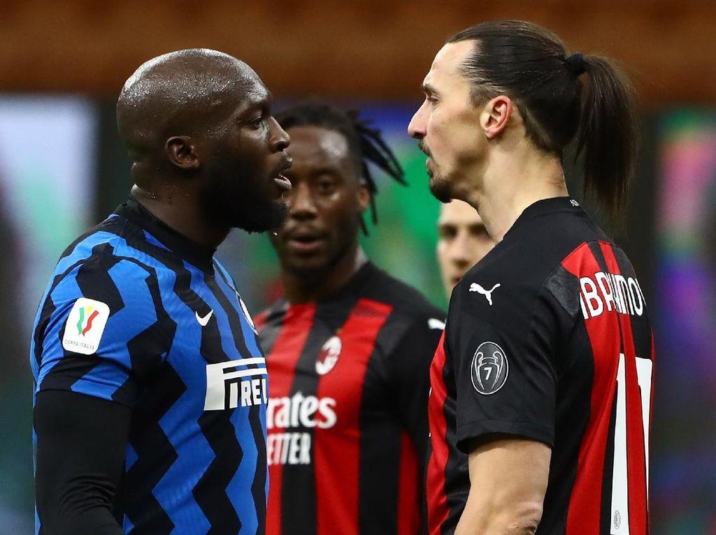 Ribut-ribut Ibrahimovic Vs Lukaku Masuk Penyelidikan