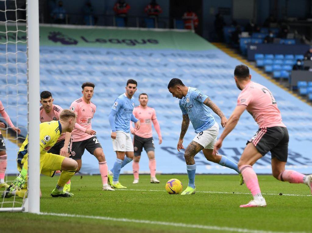 Man City Vs Sheffield: Dominan, The Citizens Unggul 1-0 di Babak Pertama