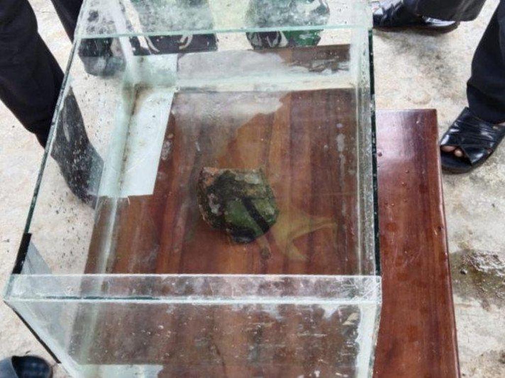 Lapan Sepakat Batu Jatuh di Lampung Meteorit, soal Dentuman Masih Misterius