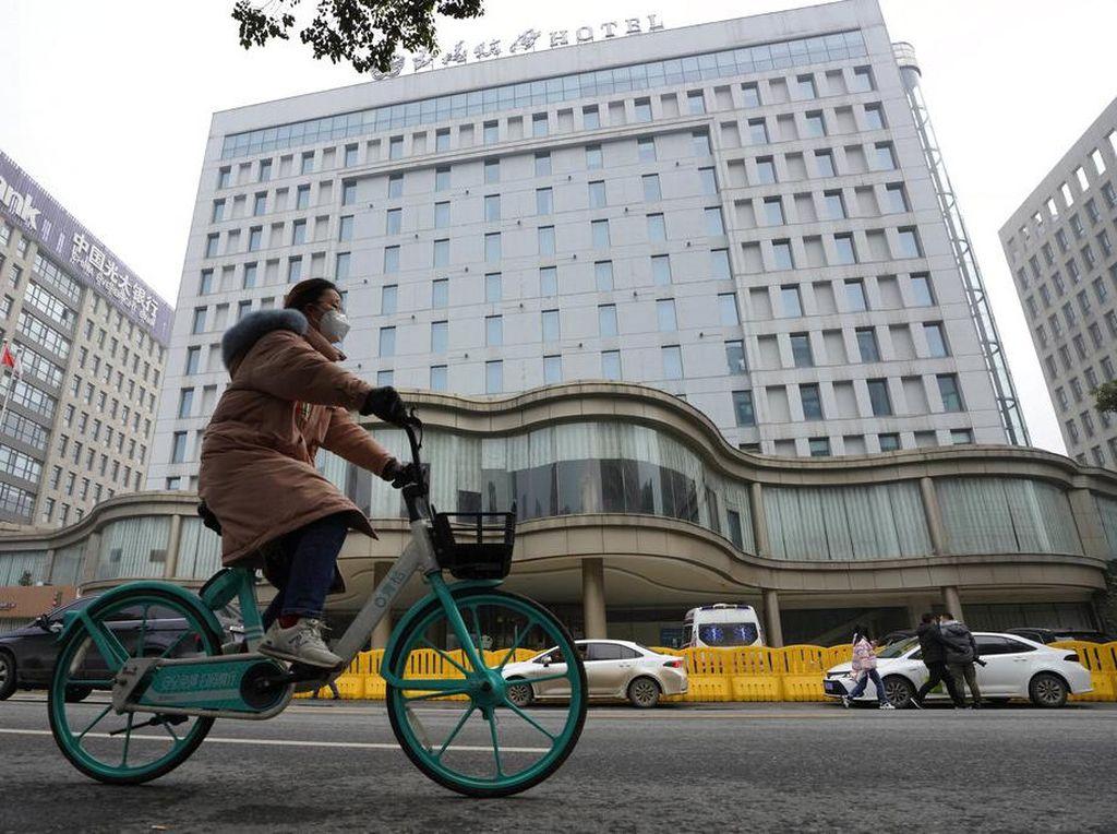Tim WHO Kunjungi Pasar Wuhan, Tempat Virus Corona Dilaporkan Pertama Kali