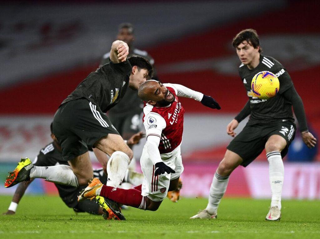 Arsenal Vs MU Berakhir Tanpa Gol
