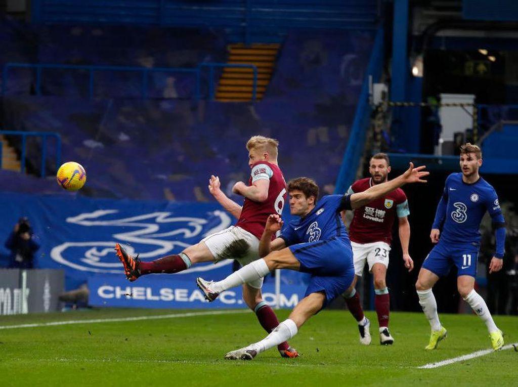 Hasil Chelsea Vs Burnley: The Blues Menang 2-0