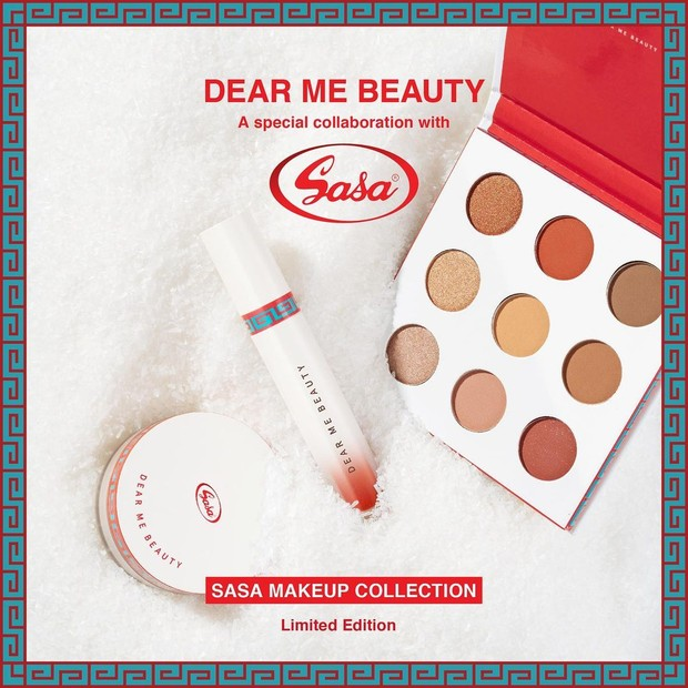 Dear Me Beauty x Sasa/instagram.com/dearmebeauty