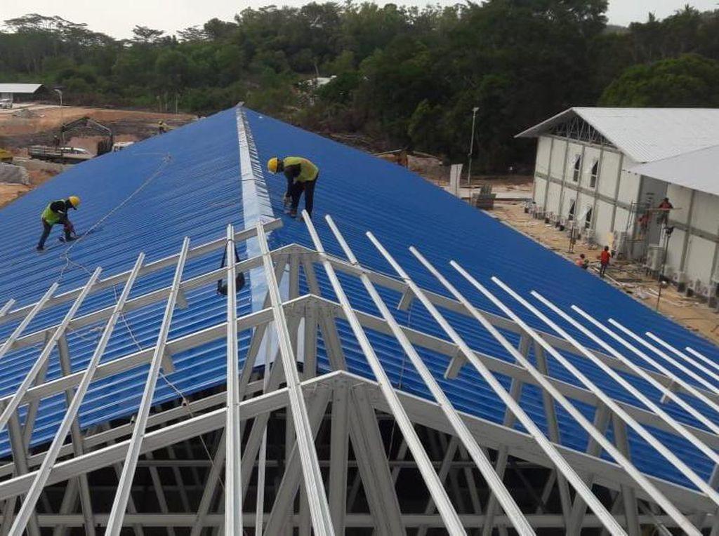 Cerita Pembangunan Fasilitas COVID-19 Pertama RI di Pulau Galang