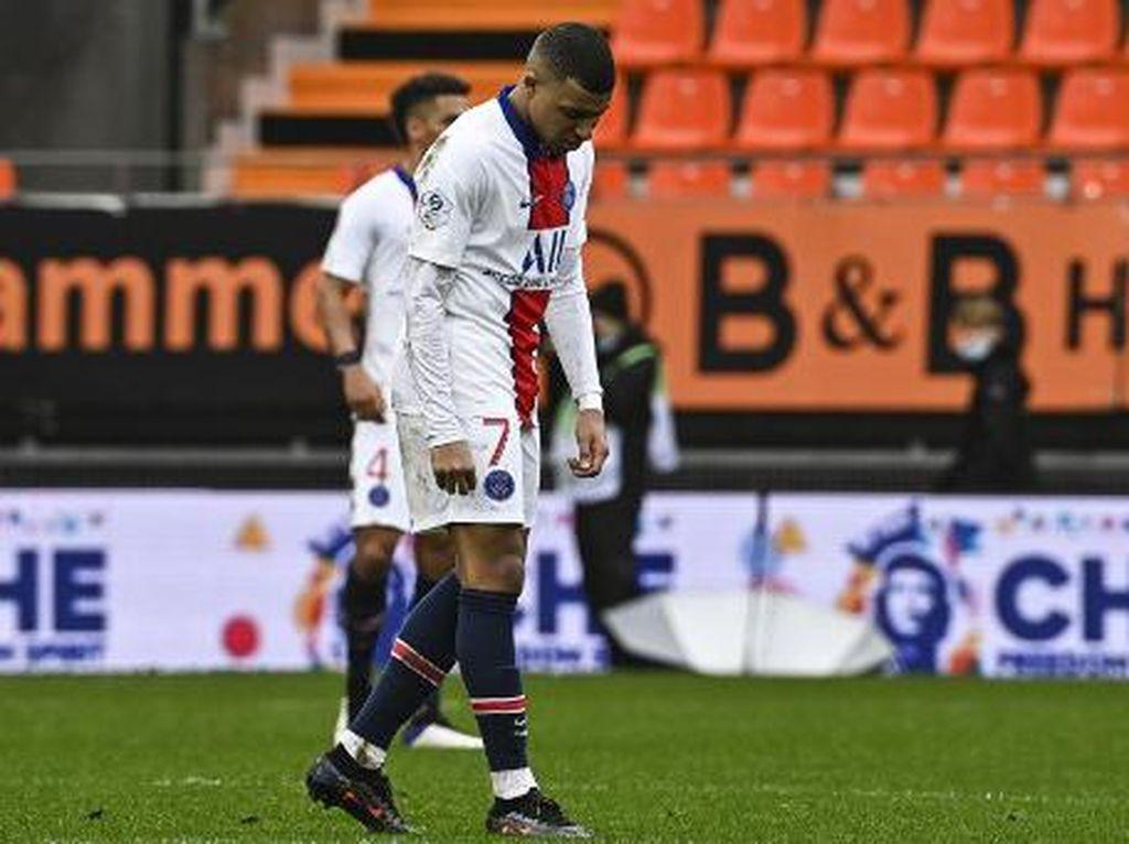 Lorient Vs PSG: Kena Comeback, Les Parisiens Kalah Dramatis 2-3