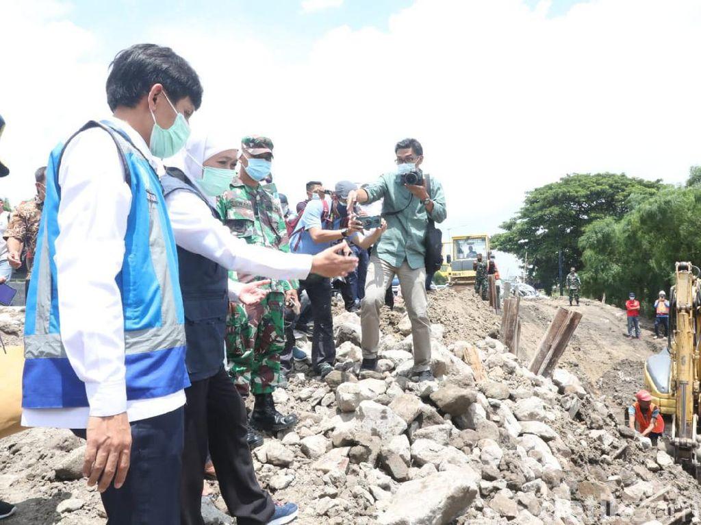 Lajur Tol Surabaya-Gempol yang Longsor Ditarget Beroperasi 8 Februari