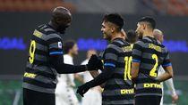 Lukaku Brace, Inter Menang 4-0 Atas Benevento