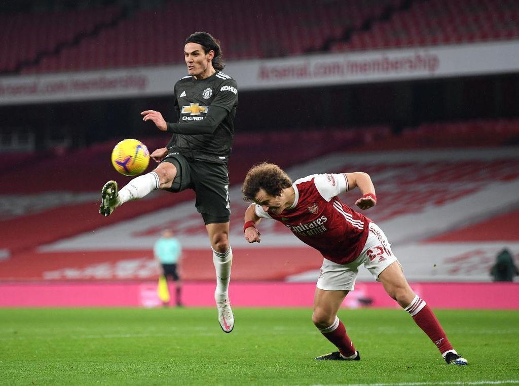 Arsenal Vs MU Berakhir Imbang, David Luiz Kecewa