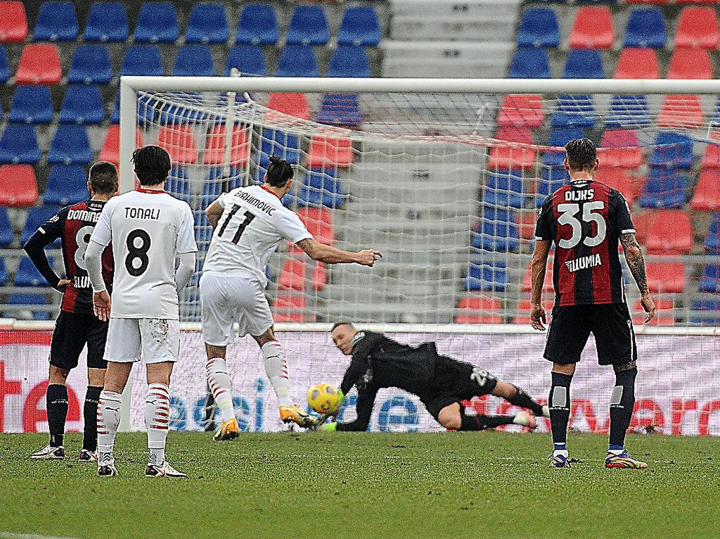 Bologna Vs Milan: Rossoneri Menang karena Penalti