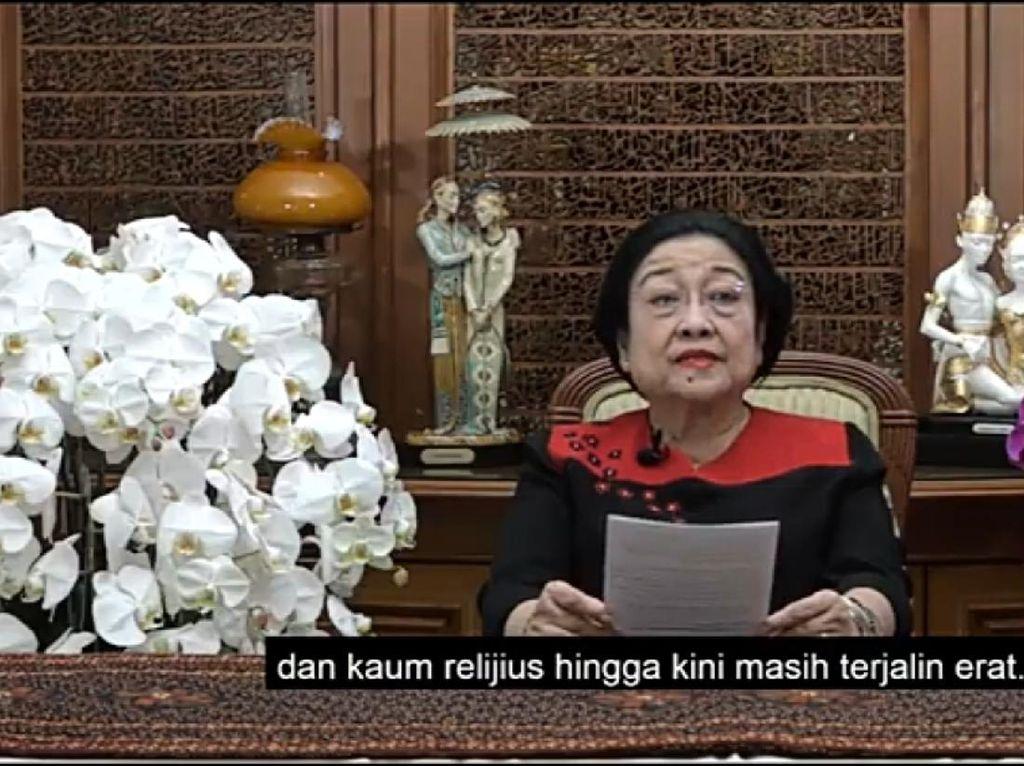 Harlah NU Ke-95, Megawati: Kedekatan Kaum Nasionalis dan Religius Erat