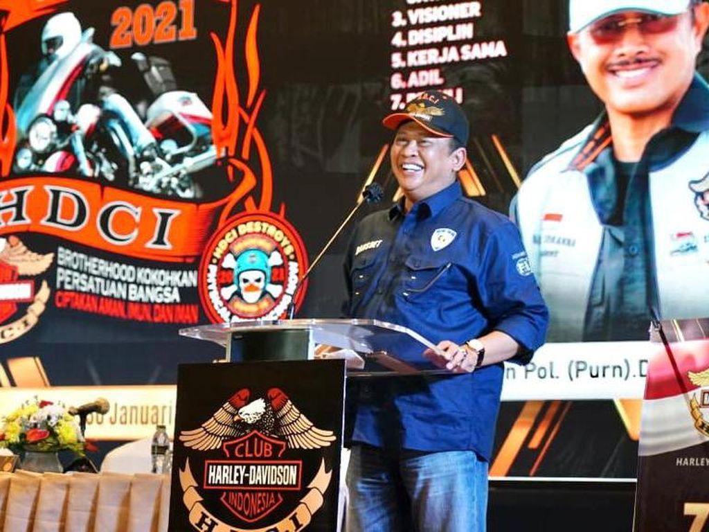 Bamsoet Apresiasi Komunitas Harley Sosialisasikan Empat Pilar