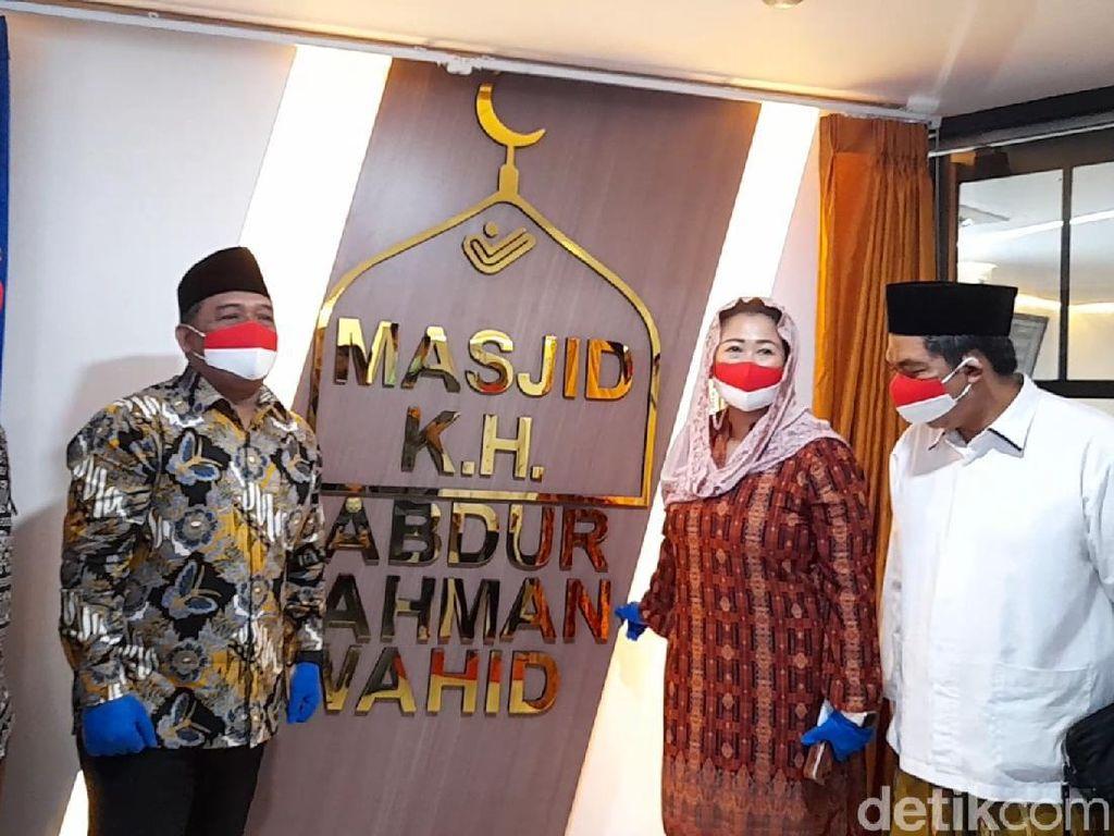 Kepala BP2MI-Yenny Wahid Resmikan Masjid-Aula Gus Dur