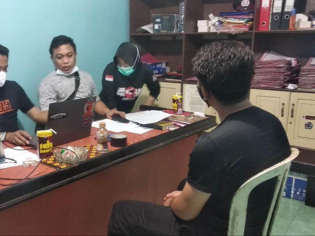 Polres Maros Tangkap Pejabat RS UIT Makassar Pemalsu Surat Rapid Antigen