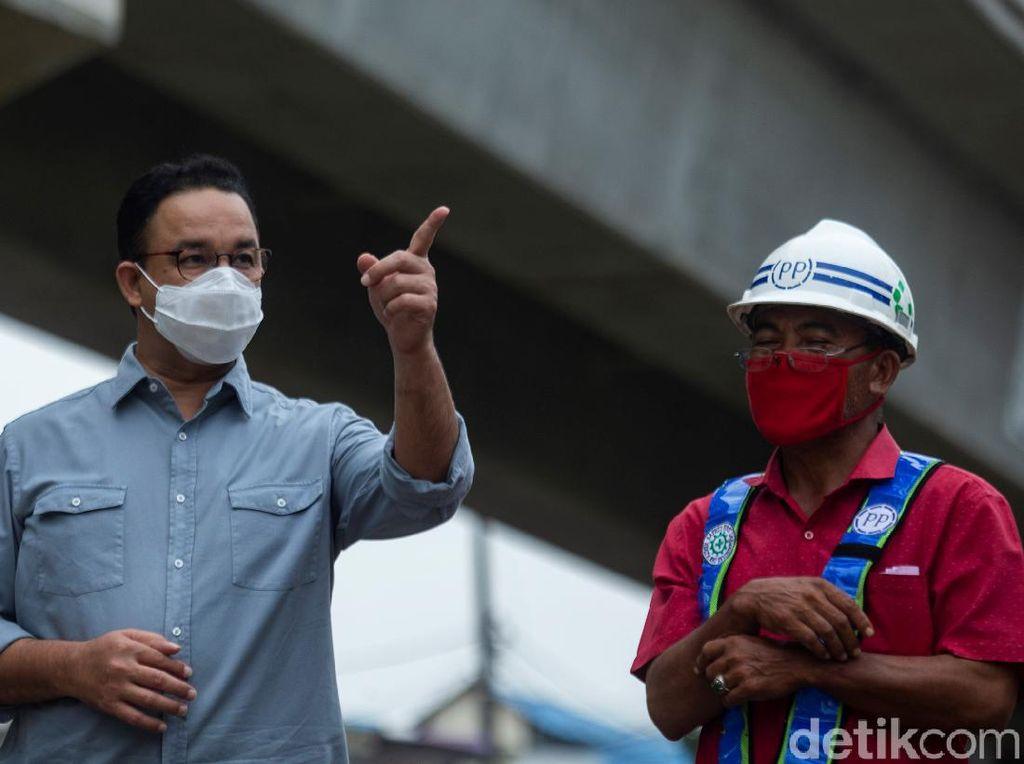 Anies Klaim Sudah Antisipasi Potensi Hujan Ekstrem: Alhamdulillah 1 Hari Kering