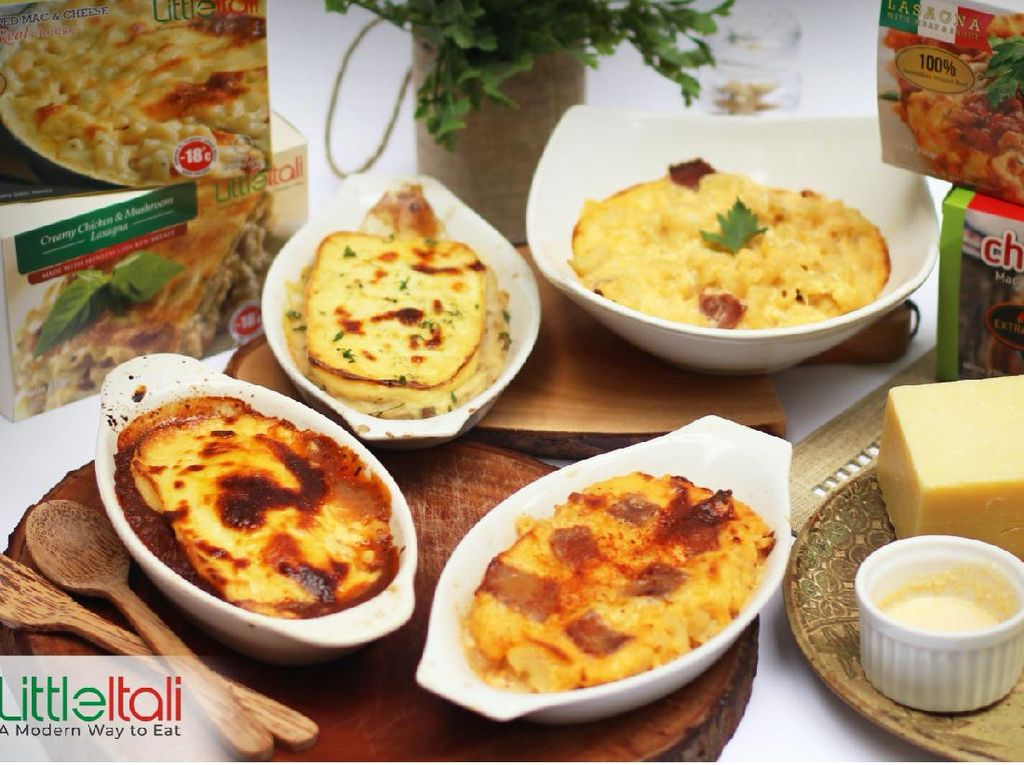 LittleItali, Cara Baru Santap Makanan ala Italia Praktis & Mudah