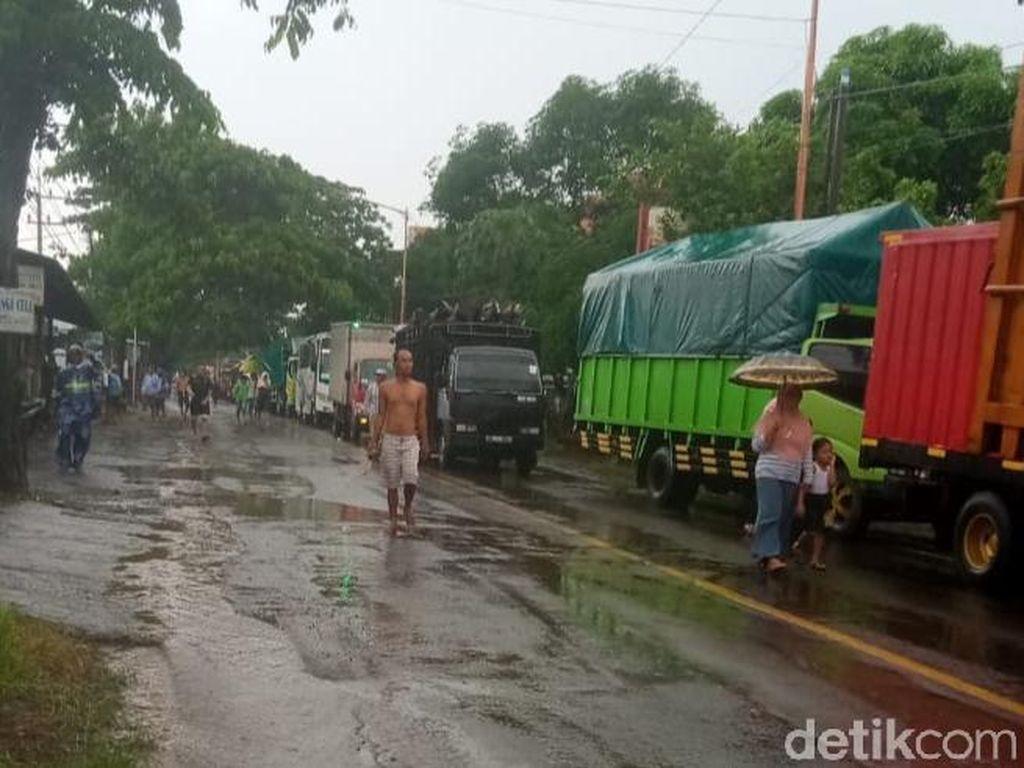 Banjir di Banyuwangi Kembali Tutup Akses Menuju Pantura Selama 2 Jam