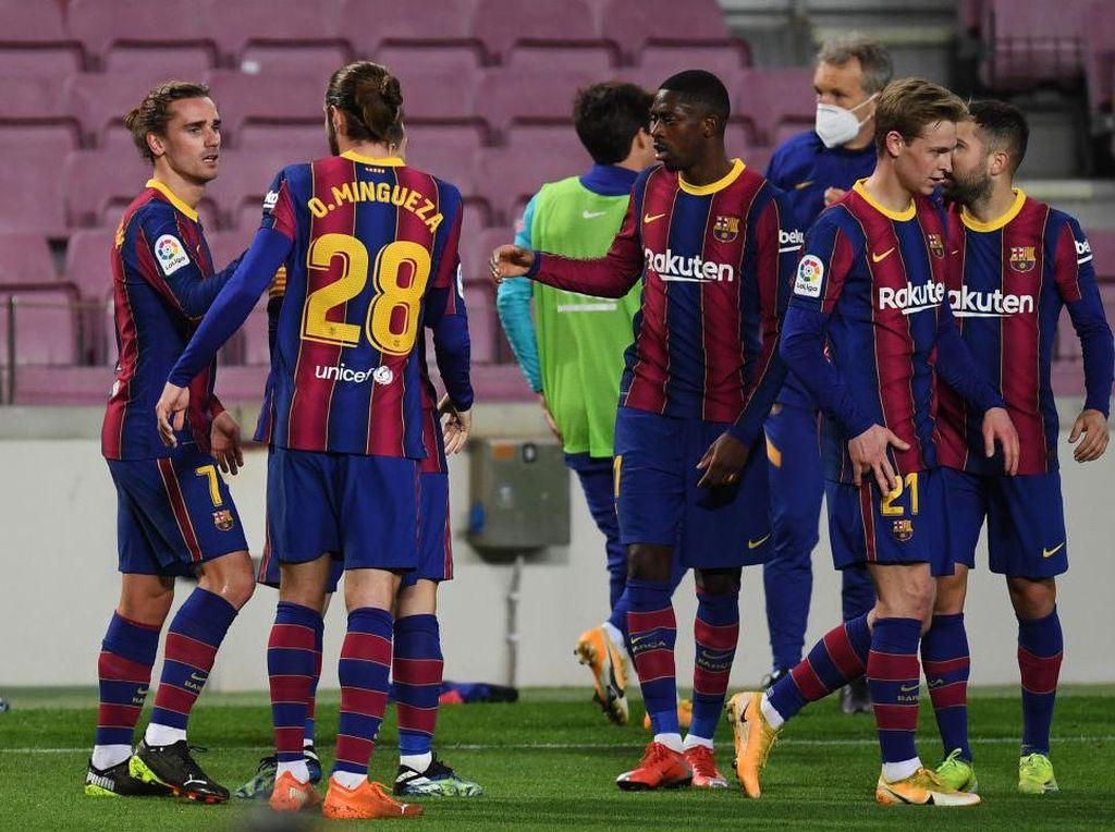 Barcelona Vs Bilbao: Menang 2-1, Blaugrana Geser Madrid di Klasemen
