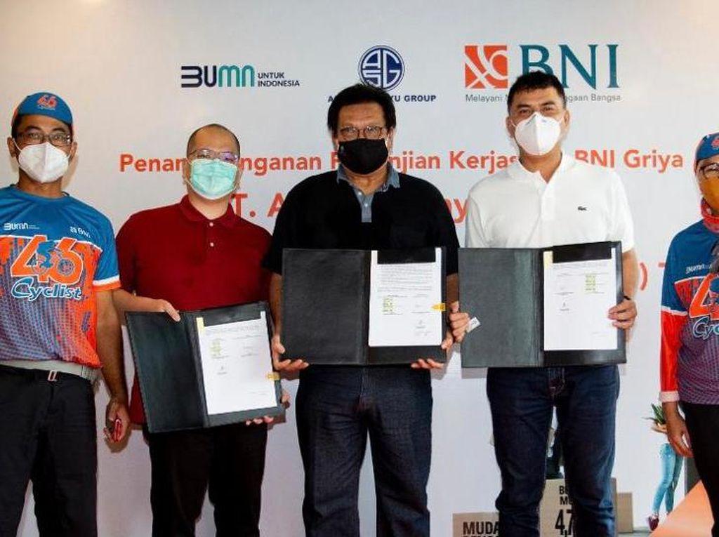 BNI Gandeng Agung Sedayu Group Percepat Penyaluran KPR