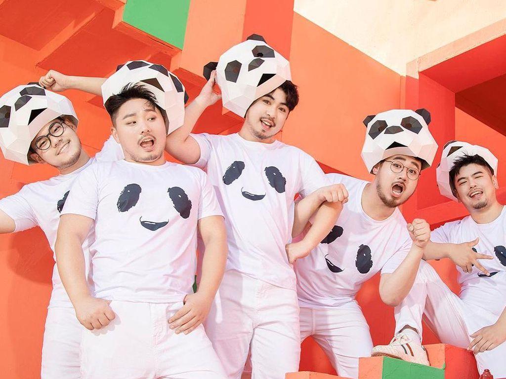 Produce Pandas, Boyband Bertubuh Gempal yang Ingin Dobrak Standar Ketampanan