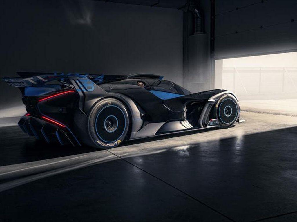 Bugatti Bolide jadi Hypercar Tercantik Tahun Ini