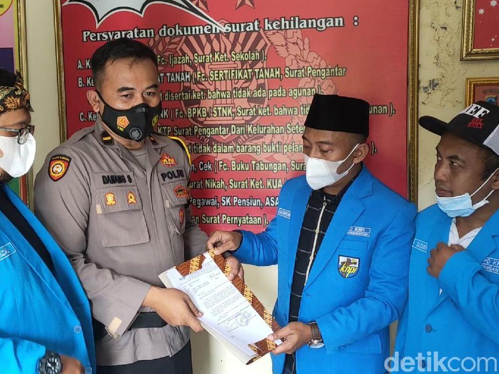 Abu Janda Dilaporkan ke Polres Karanganyar soal SARA-Penistaan Agama