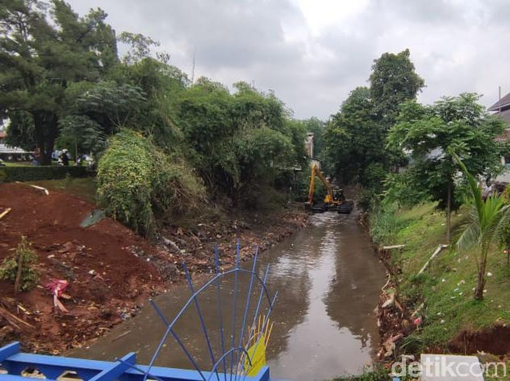 Mulai Bersih, Kali di Cimanggis Depok Tak Lagi Bak Kali Sampah